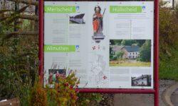 ÖKLE Büllingen - Informationstafel Merlscheid