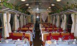 ÖKLE Raeren- der historische Speisewagen an der Vennbahn