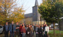 3 Im Oktober 2017 hat der Kurs der Aachener Architekturstudenten begonnen. Sie verschafften sich bei ihrem 1. Besuch einen Überblick über alle eingereichten Gebäude.