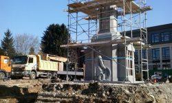 Dorfplatz Raeren 1 - Renovierung des Denkmals