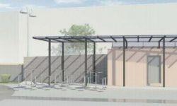 Dorfplatz Raeren 2 - Planung Pavillon