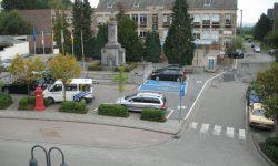Dorfplatz Raeren 3 - Vor dem Umbau