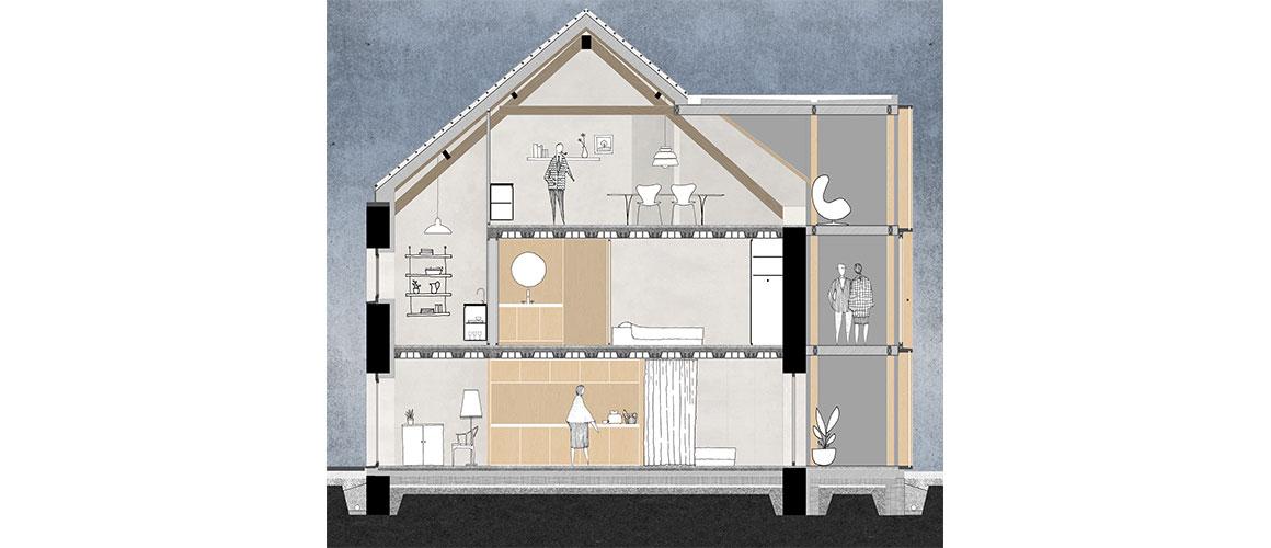 Gute Beispiele: Umbauen und Wohnen