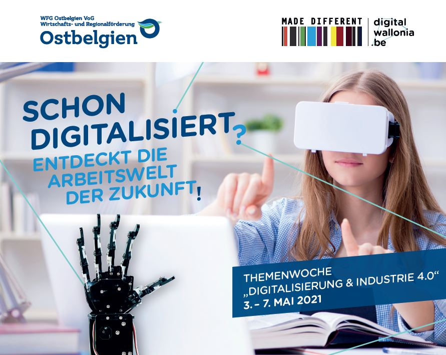 Themenwoche Schulen Digitalisierung - Einladung